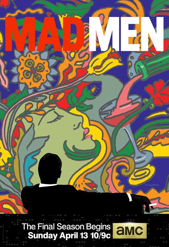 Milton Glaser Mad Men Poster Mad men (and women), how do they fare today?