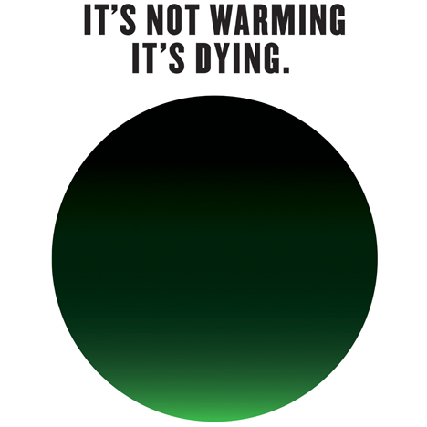 Milton Glaser's new climate change logo